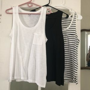 madewell • slub knit tank bundle